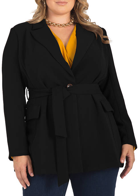 Standards and Practices Plus Size Crepe Gina Solid