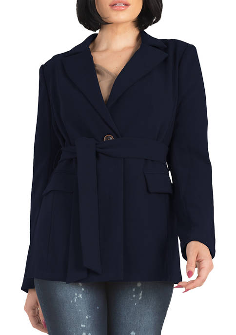 Standards and Practices Womens Crepe Gina Solid Wrap