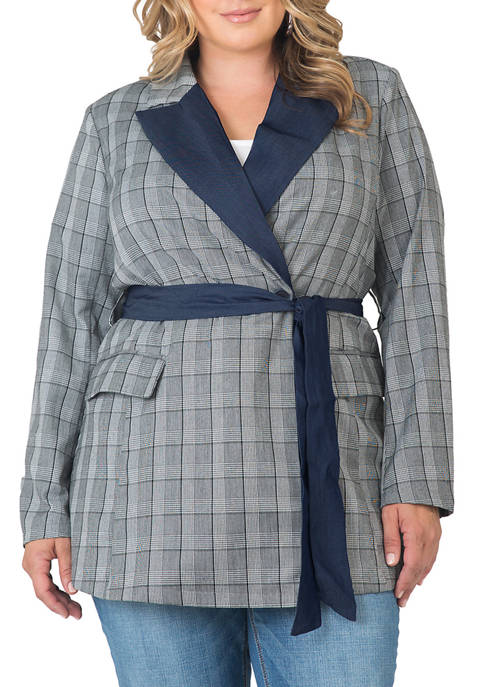 Standards and Practices Plus Size Gina Trim Wrap