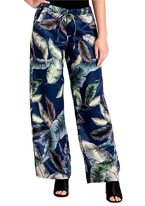 Rada Satin Print Pants