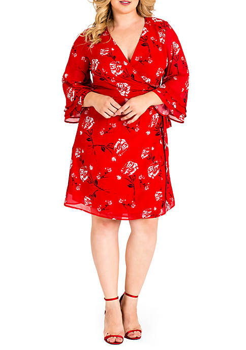 Standards and Practices Plus Size Lulu Tulip Sleeve