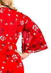 Plus Size Lulu Tulip Sleeve Wrap Dress