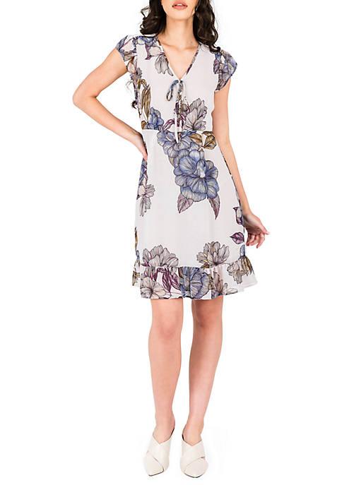 Dion Printed Dress