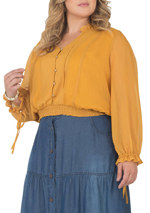 Standards and Practices Plus Size Prairie Top