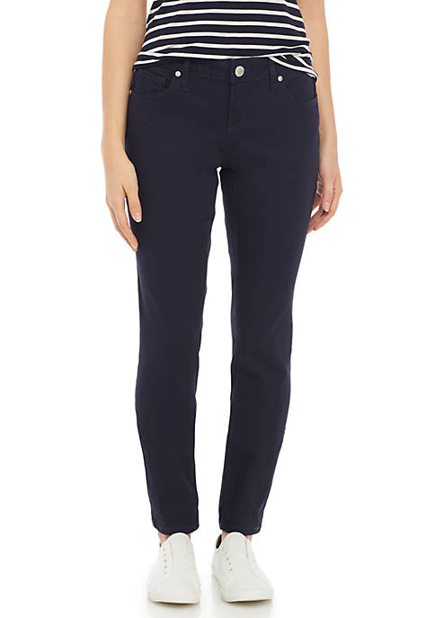 Crown & Ivy™ Petite 5 Pocket Denim Pants