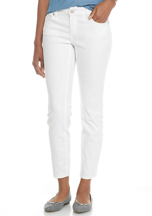 Crown & Ivy™ Petite Colored Denim Jeans