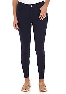 Crown & Ivy™ Colored Denim Skinny Short Jeans