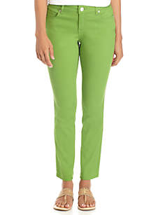 Petite Five Pocket Colored Skinny Jean