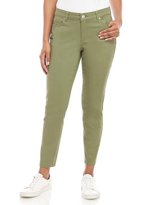 Skinny Colored Denim Jeans