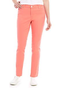 Crown & Ivy™ Skinny Colored Denim Jeans
