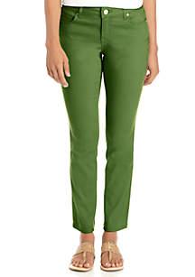 Classic 5-Pocket Colored Denim Regular Jeans