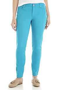 Crown & Ivy™ Classic 5-Pocket Colored Denim Regular Jeans