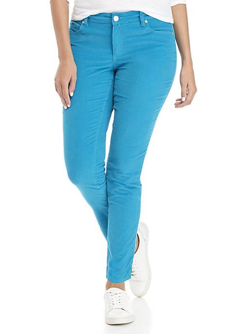 Crown & Ivy™ Skinny Corduroy Pants