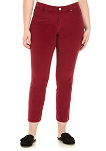 3f307d9c748 Crown   Ivy™. Crown   Ivy™ Plus Size Skinny Corduroy Jeans