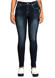 Poetic Justice Plus Size Maya Mid-Rise Jeans