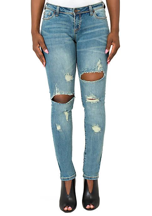 Maya Mid Rise Curvy Jeans