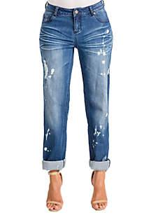 Poetic Justice Plus Size Verla True Boyfriend Jeans