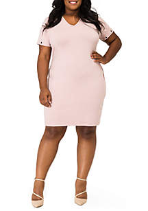 Poetic Justice Evelyn Cross Back Baby French Terry Dress