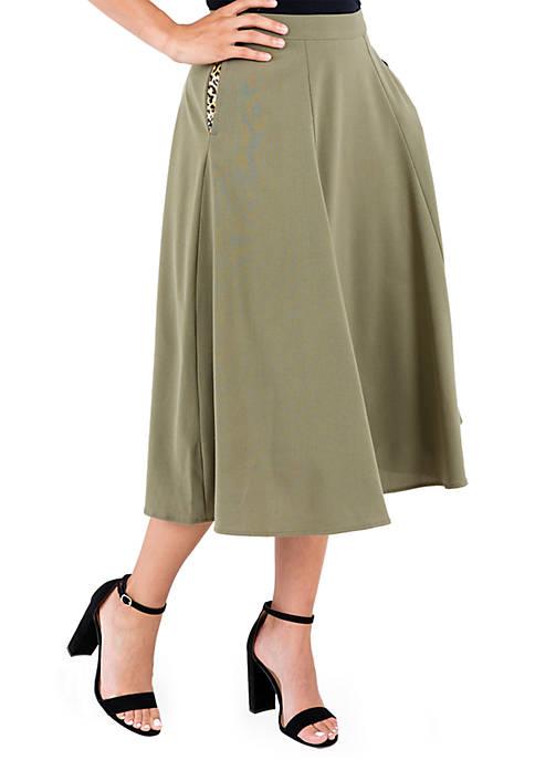 Mahoganie Suiting Skirt