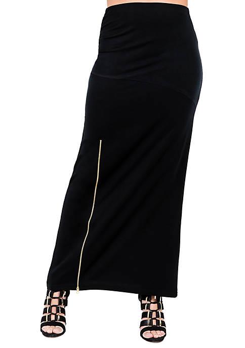 Kandi French Terry Maxi Skirt