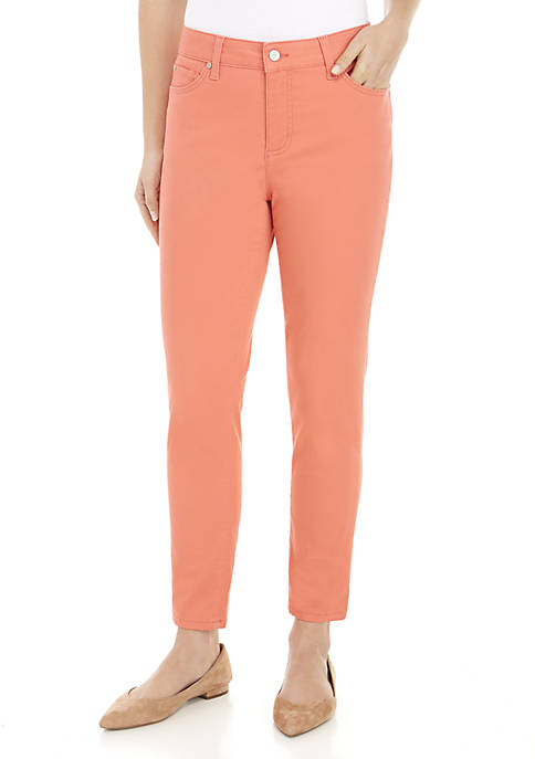 Kim Rogers® 5-Pocket Ankle Denim Pants