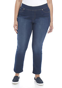 Plus Size Average Length Pull On Pants