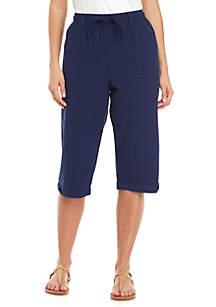 Kim Rogers® Maven Hem Skimmer Pants