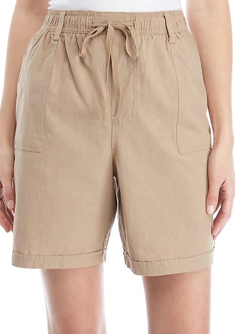 Kim Rogers® Jayden Sheeting Shorts