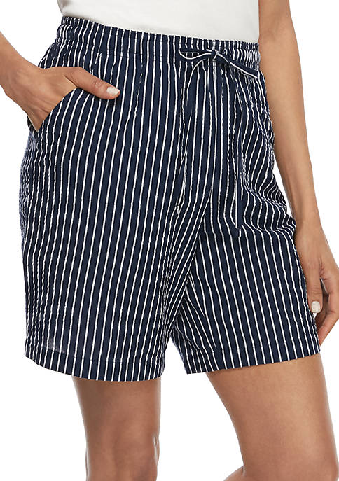 Seersucker Sheeting Shorts