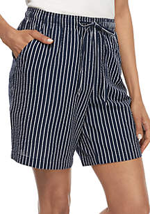 Kim Rogers® Seersucker Sheeting Shorts