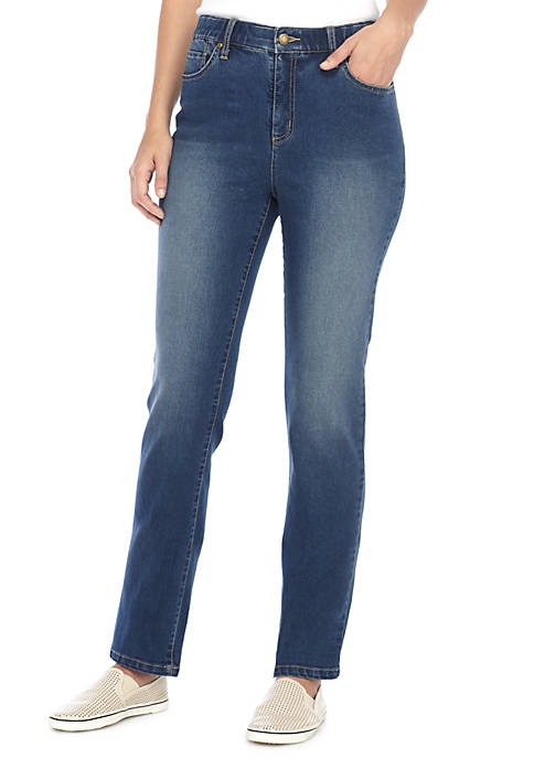 Kim Rogers® 5 Pocket Straight Leg Denim Pant