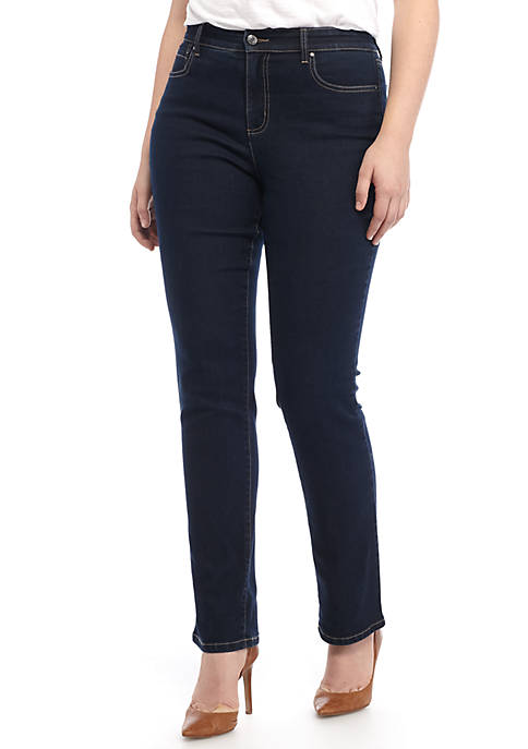 Kim Rogers® 5 Pocket Straight Leg Denim Pant