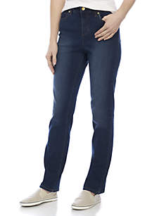 5 Pocket Straight Leg Denim Pant
