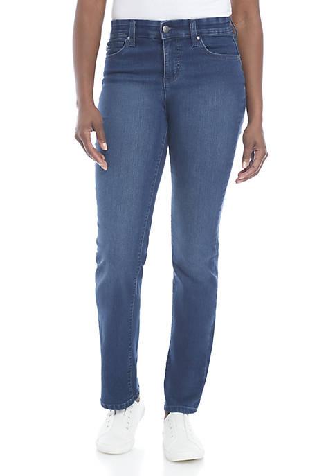 Kim Rogers® Petite Jones Straight Jean