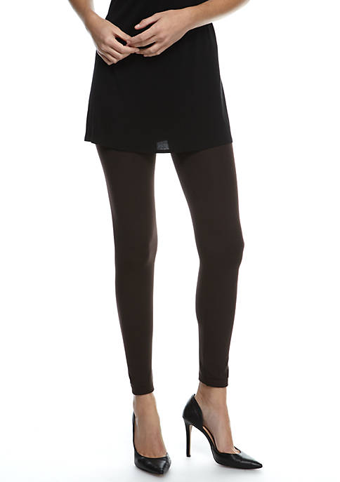 New Directions® Seamless Fleece Lined Legging
