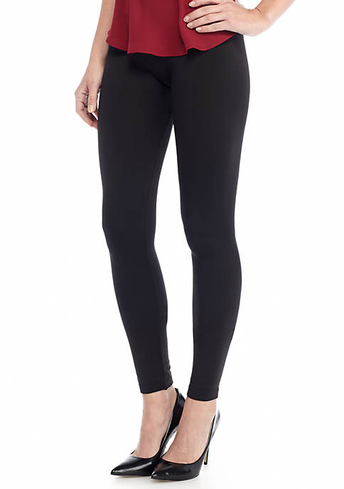 fc3c34b2edc50 New Directions® Weekend Seamless Cozy Fleece Lined Legging. Seamless Cozy Fleece  Lined Legging