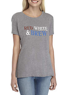 Red White And Brew Graphic Tee
