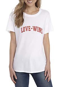 Love Wins Graphic Tee