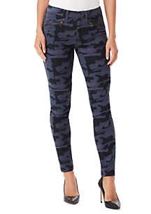 Skinny Cargo Camo Jeans