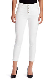 WILLIAM RAST™ Sculpted High Rise Skinny Ankle Jeans