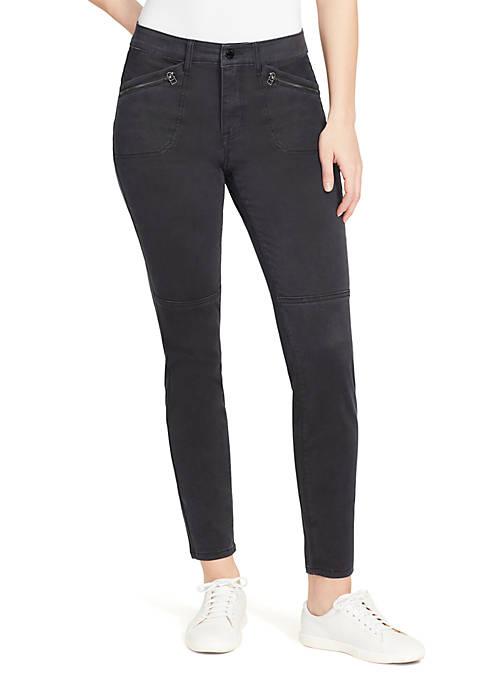 Jane Utility Skinny Jeans