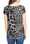Cooper Camo Henley T Shirt
