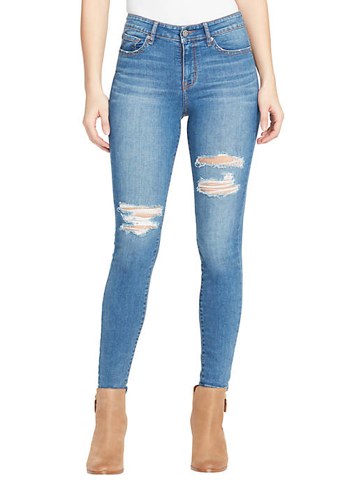 Perfect Skinny Destroyed Jeans