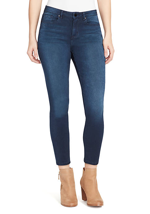 Core High Rise Ankle Skinny Jeans