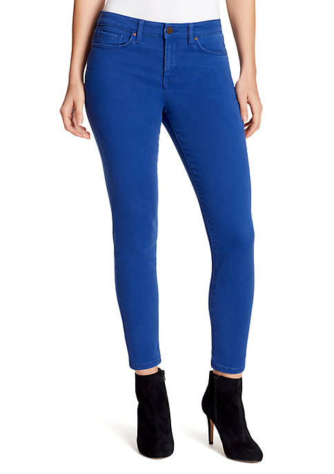 Perfect Skinny Ankle Denim Jeans