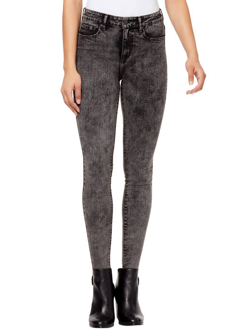 Sculpted High Rise Skinny Jeans