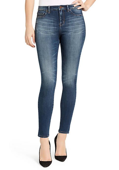Sculpted High Rise Skinny Jean