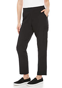 New Directions® Weekend Stretch Woven Ankle Pants