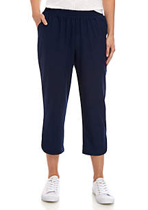 New Directions® Weekend Stretch Woven Capris