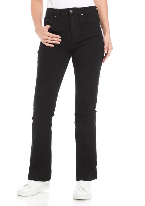 High Rise Slim Cut Flare Jeans